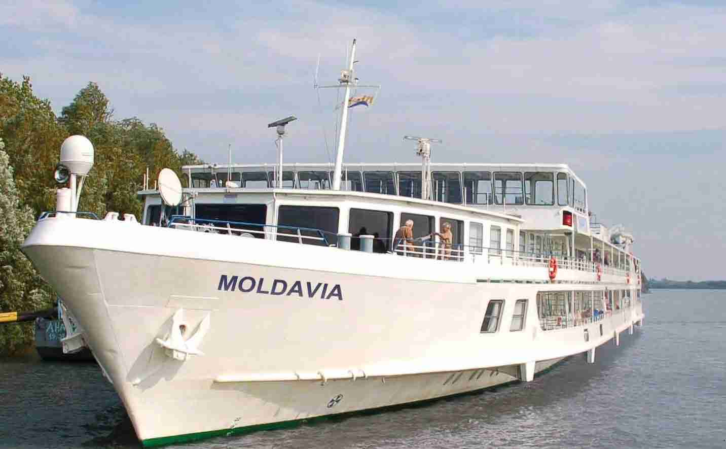 Теплоход MOLDAVIA