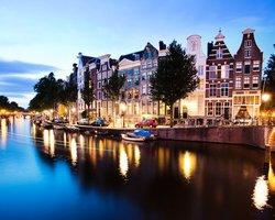 Амстердам,канал