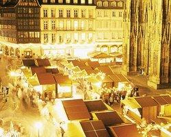 Рождественская ярмарка в Страсбурге