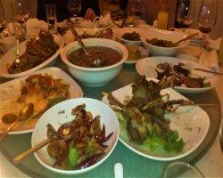 Ужин Китайской кухни