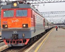 Посадка в поезд РОССИЯ Москва-Владивосток