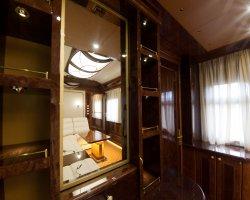 Гостиная в Дипломатическом вагоне-салоне