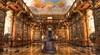 Библиотека аббатства в Мельке