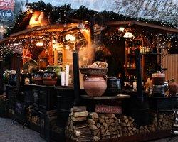Рождественский базар в Будапеште