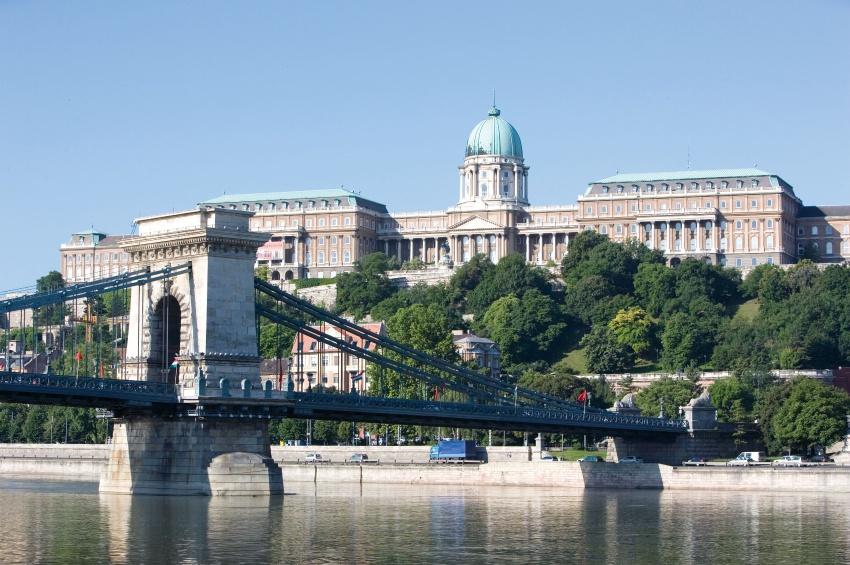 Королевский дворец в Будапеште