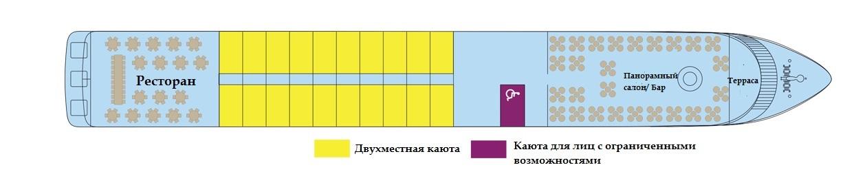 Средняя палуба т/х GERARD SCHMITTER