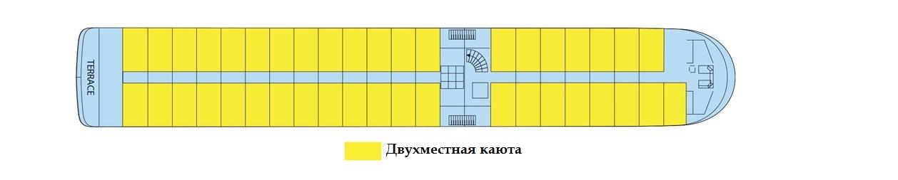 Верхняя палуба т/х GERARD SCHMITTER