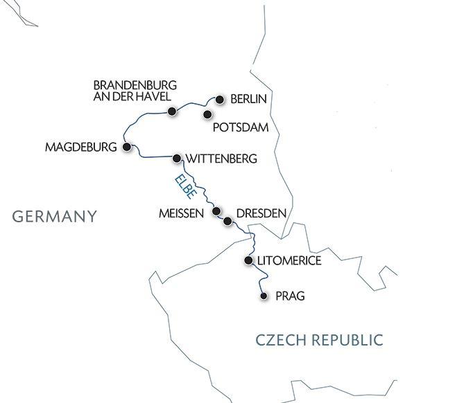 Круиз из Праги в Берлин