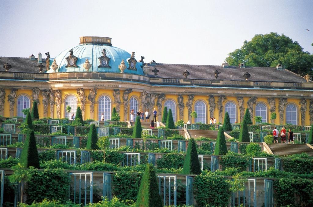 Дворец Сан Суси, Германия