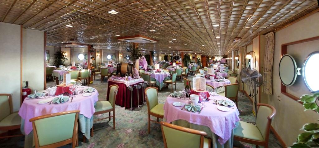 Ресторан на т/х BELLE DE CADIX