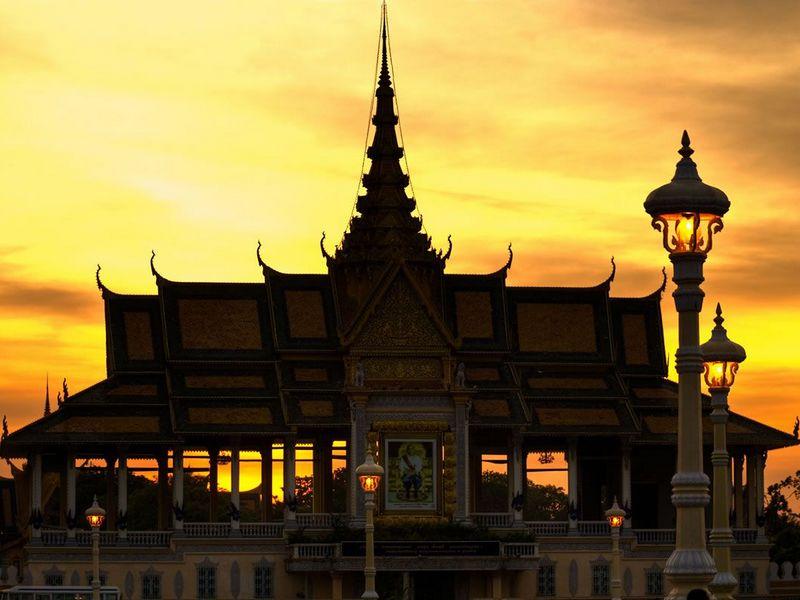 Королевский дворец. Пном Пень.