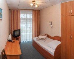Псков, гостиница Ольгинская, Одноместный номер со всеми удобствами.