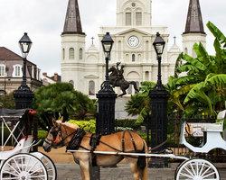 Новый Орлеан. Плащадь Джексона