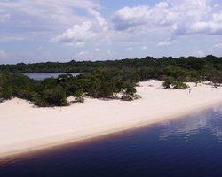 Белоснежные пляжи Амазонии