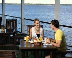 Завтрак на палубе