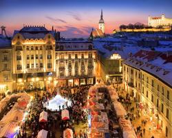 Рождественский базар в Братиславе