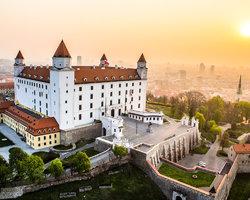 Замковый холм Братислава