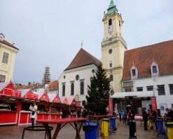 Рождество в Братиславе