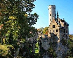 Замок Лихтенштейн в Венском лесу